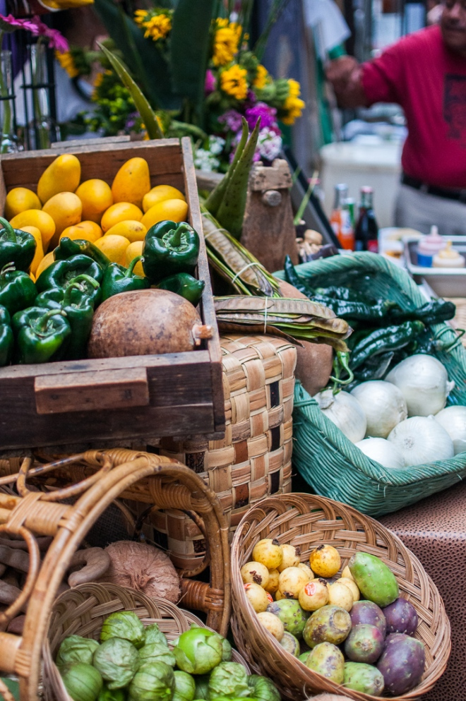 Farmers markets, food festivals, and lots of cooking