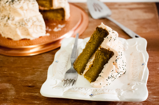 Pumpkin Spice Cake and Cake Boss Giveaway from StirringThingsUpBlog.com @kristelpoole