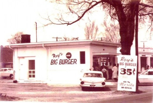 Roy's Big Burger (1960's) on Lakeside Avenue in Richmond, VA @kristelpoole